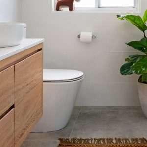 Brushed Nickel Flat Toilet roll Holder