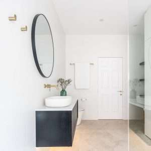 Brass Toilet Paper Holder / Hand Towel Rail