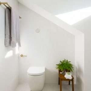 Brass Round Toilet Paper Holder / Hand Towel Rail
