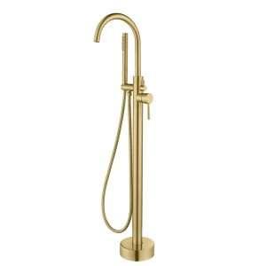 Brass Floor Standing Bath Set