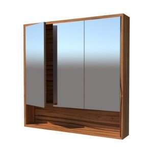 Three doors mirror cabinet