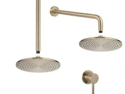 Shower tapware set