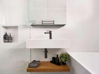 small wall hung basin