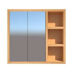 Bathroom cabinet with shelves