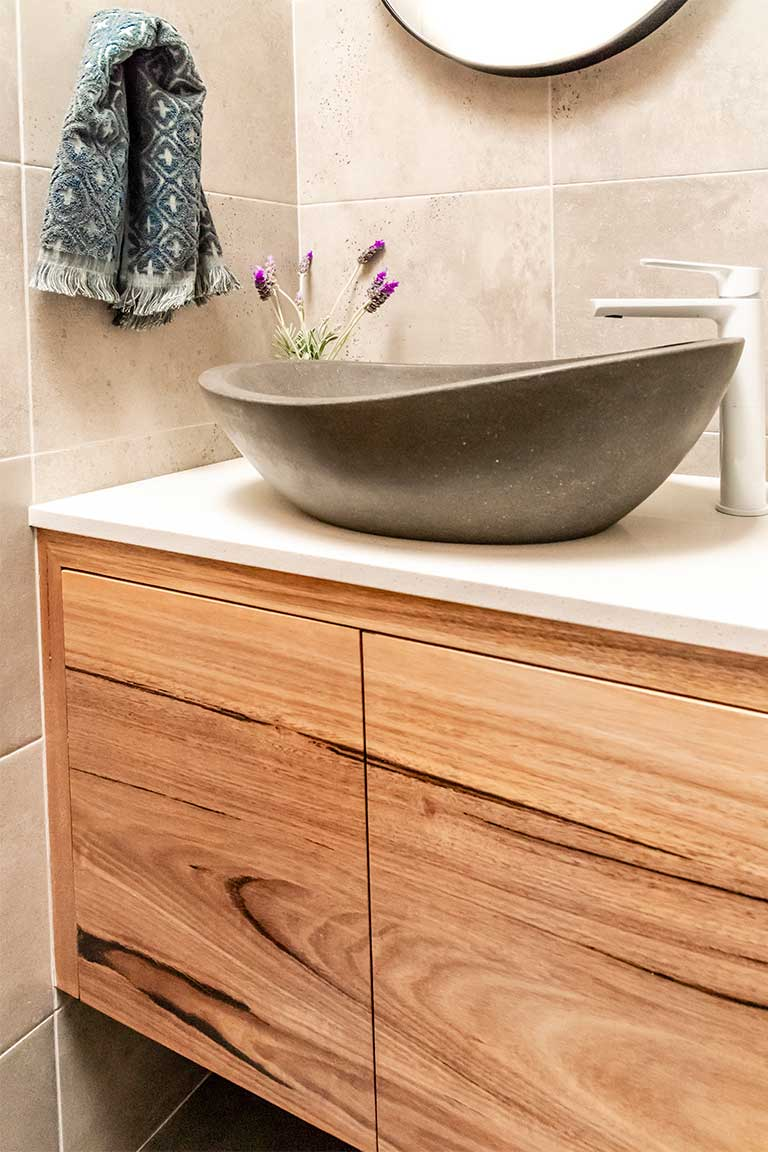 Locally Made Custom Made Timber Vanities   Just In Place Sydney
