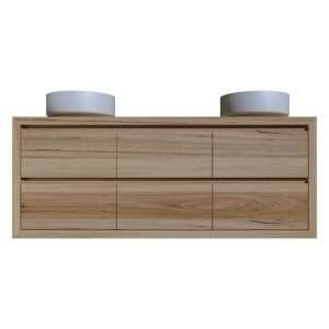 Timber Vanity with six drawers
