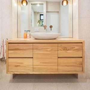 Fern Timber Vanity